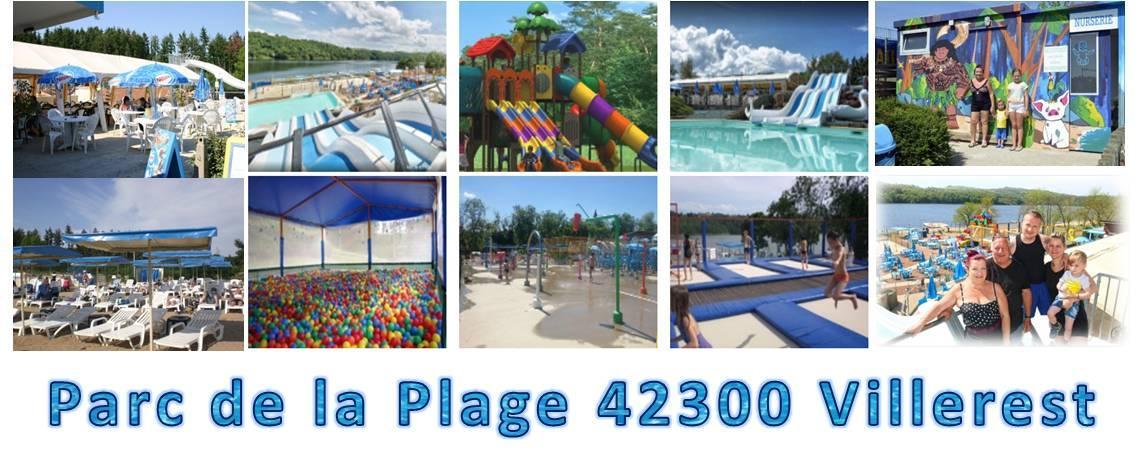 Parc de la plage 42300 Villerest